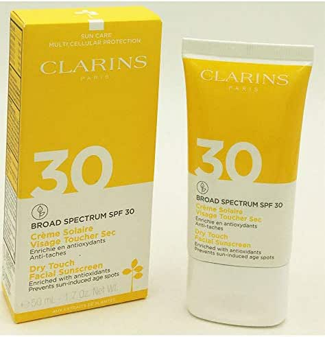 Clarins Dry Touch Facial Sunscreen SPF 30 1.7oz / 50ml