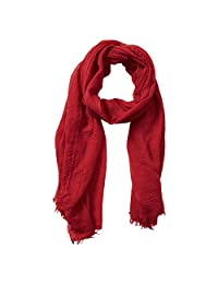 Tickled Pink womens standard Classic Soft Solic Lightweight Oblong Scarf