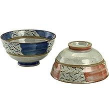 CtoC JAPAN Pair Rice bowl Pottery Size(cm) Diameter 11.8x6.1 ca062471