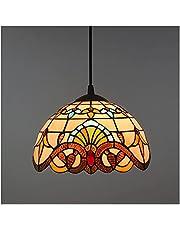LED European Retro Tiffany lamp Bedroom Dining-Room lamp Bar Cafe Creative Baroque Card Holder bar Chandelier