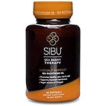 Sibu Beauty Cellular Support with Omega 7 Softgels, 60 Count