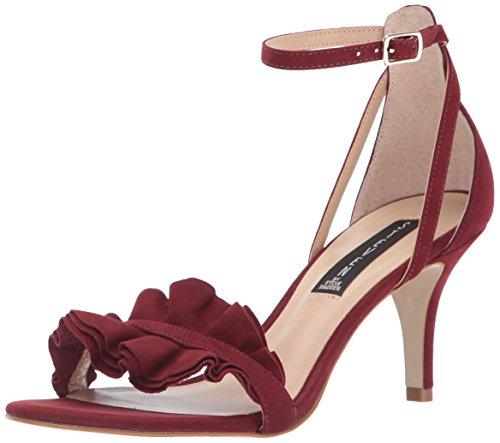 STEVEN by Steve Madden Women Vexen Dress Sandal Burgundy nubuck