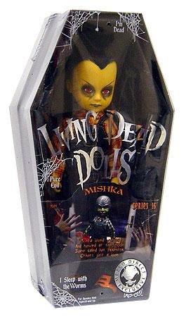 Mezco Toyz Living Dead Dolls Series 16 HALLOWEEN Variant Mishka