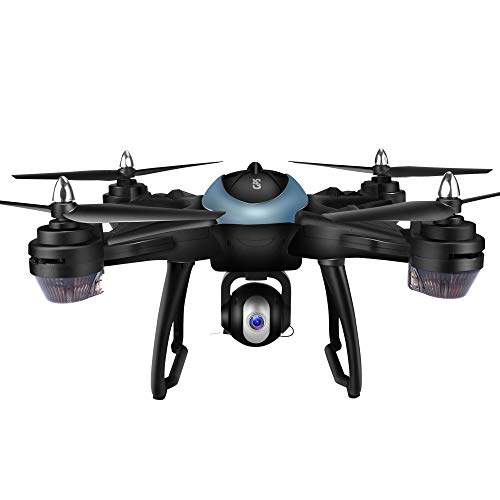 MOZATE LH-X38G Dual GPS FPV Drone Quadcopter with 1080P HD Camera WiFi Headless Mode (Blue) by MOZATE (Image #1)