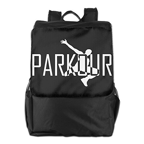 GTSOXI Outdoor Travel Backpack Bags - Parkour Art Sports Backpack Daypack Bookbags Weekend Bag For Girl Boy Man Woman