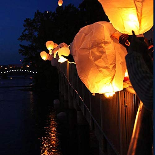 Paper Lanterns White Chinese Lanterns//Chinese//Japanese Home Party /& Wedding Decorations