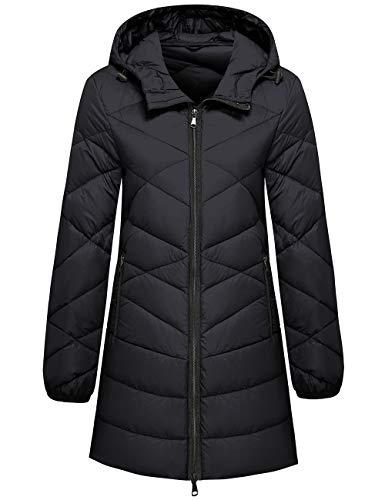 Wantdo Women's Hooded Packable