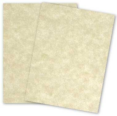 Astroparche Aged Parchment Card Stock 65lb Cover 50 Per Pack. (11 X 17) by S Superfine Printing