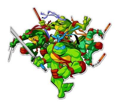 Amazon.com: Teenage Mutant Ninja Turtles Vynil coche ...