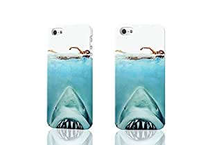 diy phone caseNew Jaws Swimming Seamless 3D Rough Case Skin, fashion design image custom , durable hard 3D case cover for iphone 5/5s , Case New Design By Codystorediy phone case