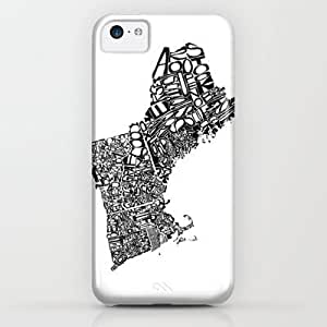 Society6 - Typographic New England iPhone & iPod Case by CAPow!