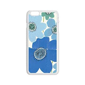 Creative Blue Flower Cell Phone Case For Iphone 6Maris's Diary