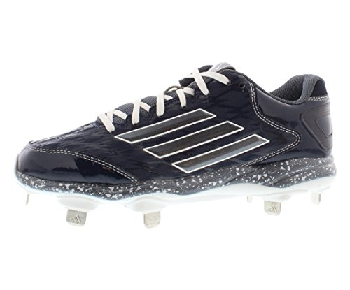 Adidas Performance Womens Poweralley 2 W Tacchetta Softball Blu Navy Collegiale / Carbonio Metallizzato
