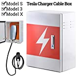 BMZX Charger Box Charging Cable Organizer Box
