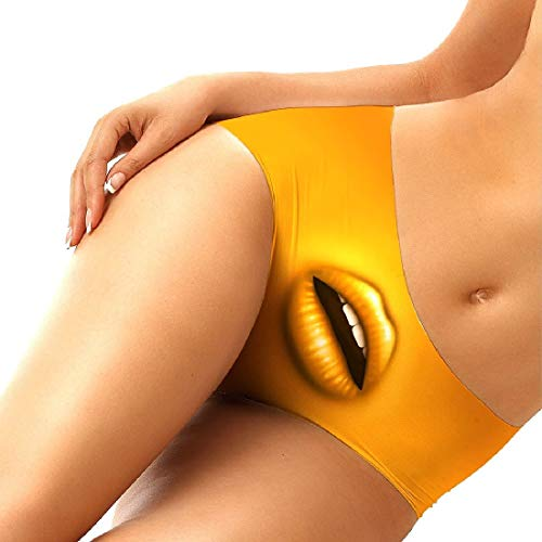 Andopa Women Printing Vogue Sexy Freedom Underwear Bikini Panty 9 S