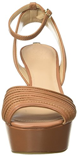 Medium Dress Tan Plataforma con Marrón Guess Sandal para Footwear Brown Mujer Zapatos H5qz1