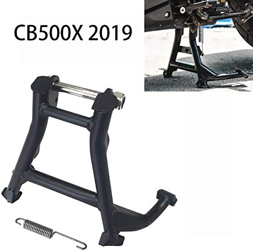 B/équille centrale de stationnement solide en acier fabriqu/é /à la main pour Honda CB500X 2019 CB 500 X