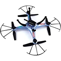 Dayan Anser Hovering Function Barometer Set Height Syma X5HC 2.4G 4CH 6Axis Headless Mode RC Quadcopter RTF With 2MP HD With 360 Degree 3D Eversion Function and Throwing Flight Function (Blue)