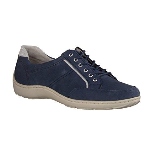Waldläufer Zapatillas Para Mujer Azul Azul