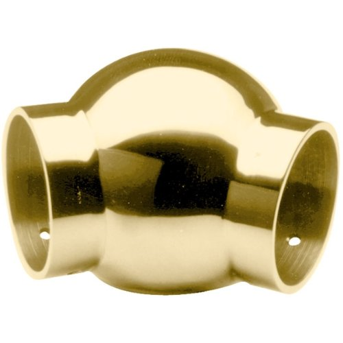 Ball 135 Degree Elbow - BuyRailings 00-701A/1H Polished Brass Ball 135 Degree Elbow 1-1/2