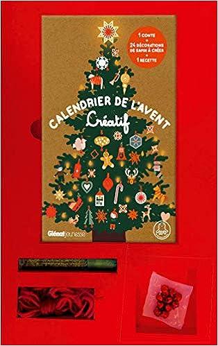 Calendrier De L Avent A Creer.Amazon Fr Calendrier De L Avent Creatif 24 Decorations A