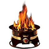 Outland Firebowl 870 Premium Outdoor Portable Propane Gas Fire Pit with Cover & Carry Kit, 19-Inch Diameter 58,000 BTU Auto-Ignition