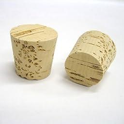 Tapered Cork Plugs MF2 100 Pcs Pack Top Diameter = 1/2\