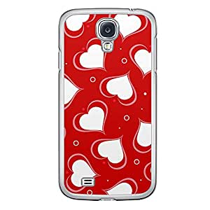 Loud Universe Samsung Galaxy S4 Love Valentine Printing Files A Valentine 128 Printed Transparent Edge Case - Red