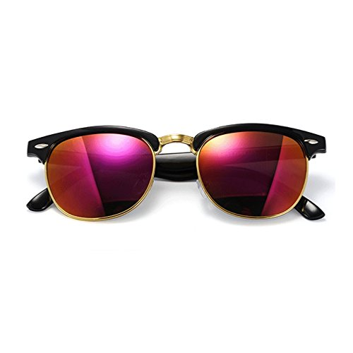 G&T Mens And Womens Fashion Personality Cool Metal Frame Retro Wayfarer Sunglasses(C2) ()