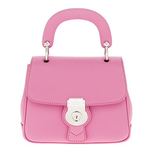 Burberry Women's Small DK88 Top Handle Bag Pink
