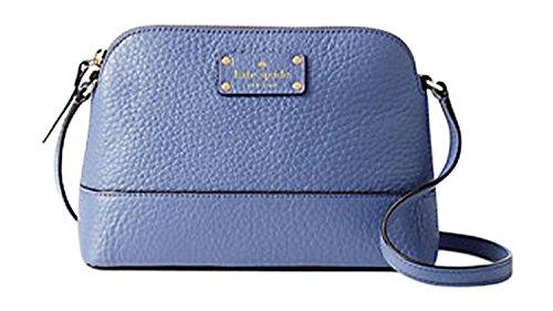 Kate Spade New York Bay Street Hanna Crossbody Handbag Oyster Blue (oyster blue) by Kate Spade New York