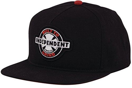 Independent Mens 95 Btg Snapback Adjustable Hats One Size Black