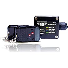 AGT 12V Waterproof Wireless Remote Control DC Universal 2-Channel Output Works LED Lights