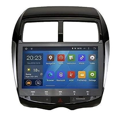 SYGAV Android 5 1 1 Lollipop Quad Core 10 1 Inch In-dash Car Stereo Video  Player 2 Din 1024x600 Sat GPS Navi for Mitsubishi ASX Peugeot 4008 Citroen