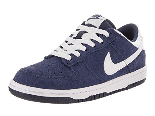 Nike Kids Dunk Low (GS) Binary Blue/White Skate Shoe 4.5 Kids US (Nike Toddler Dunk)