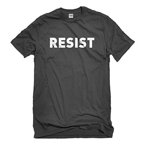 Indica Plateau Mens Patriots Resist Large Charcoal Grey T-Shirt