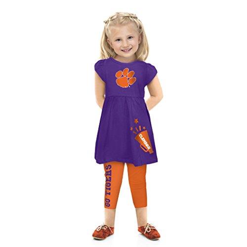 NCAA Clemson Tigers Toddler Play Set, 5 Tall, Orange