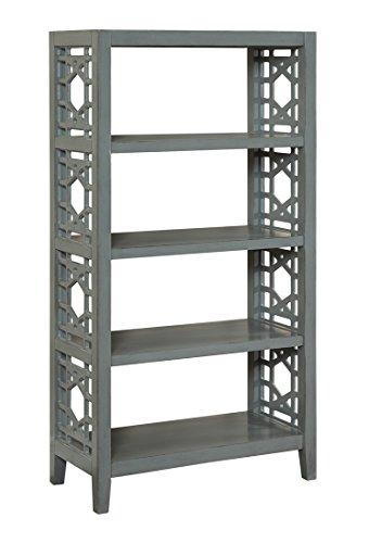 Coast To Coast Wood Bookcases Coast To Coast 13725 Bookcase 32 X 60 X 16 Inches Gray Model # 13725