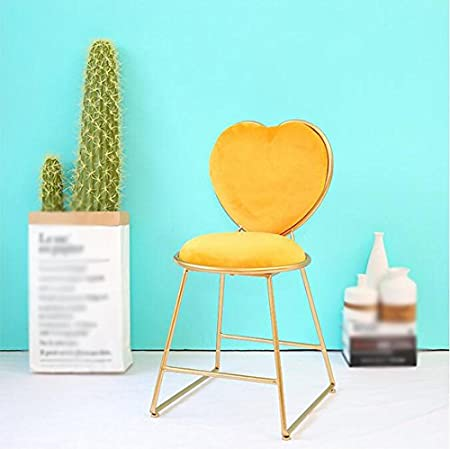 Cu0026L Chair, Make Up Stool Heart Shaped Chair Restaurant Living Room Chair Bar