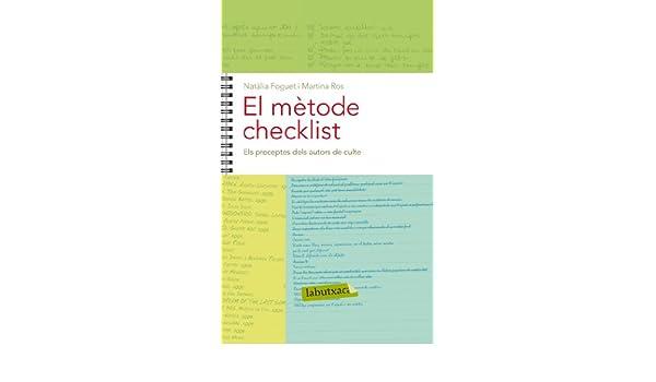 El mètode Checklist. Capítol 15: Els preceptes dels autors de culte (Catalan Edition)