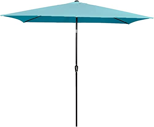 Sundale Outdoor Rectangular Patio Umbrella