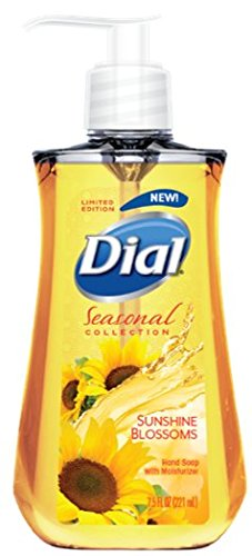 Dial Liquid Hand Soap, Sunshine Blossoms, 7.5 Fluid Ounces