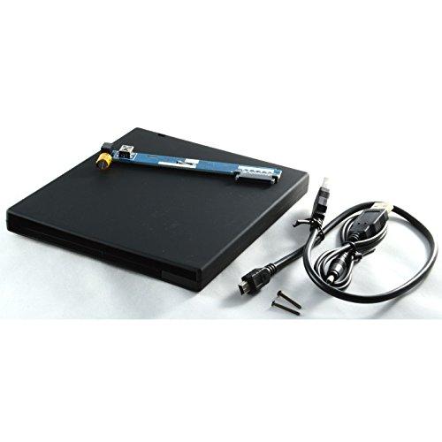 External USB Enclosure for IBM Lenovo Thinkpad Z61 T61 T61P DVD Optical (T61 Usb)