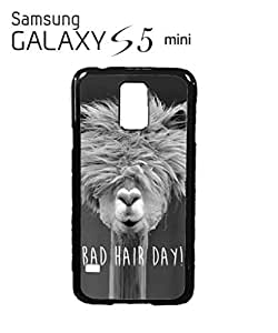 Bad Hair Day Llama Mobile Cell Phone Case Samsung Galaxy S5 Mini White