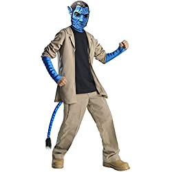 Rubie's Avatar Child's Deluxe Costume And Mask, Jake Sully Costume-Medium