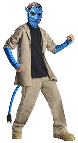 Avatar Child's Deluxe Costume And Mask, Jake Sully Costume-Medium