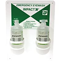 IMPACT PRODUCTS 7349 Double Eye Wash And Face Wash Station with 16 oz Bottles by Impact Products