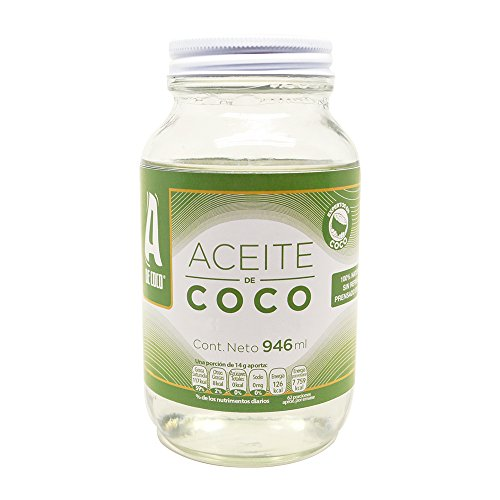 A de Coco - Aceite de Coco Convencional, 946 ml