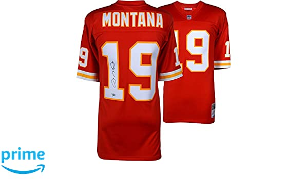 82761c125e7 Joe Montana Kansas City Chiefs Autographed Nike Limited Jersey - Fanatics  Authentic Certified - Autographed NFL Jerseys at Amazon s Sports  Collectibles ...