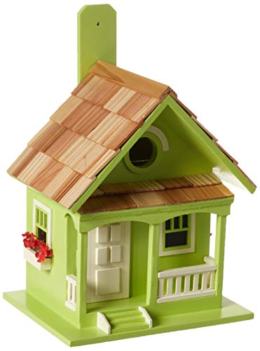 (Home Bazaar Key Lime Cottage Birdhouse)